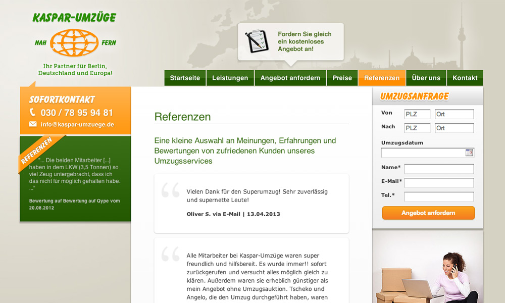 Umzug Berlin Bewertung ulrich webdesign berlin kaspar moving company