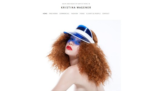 Webdesign Hair and Make up artist